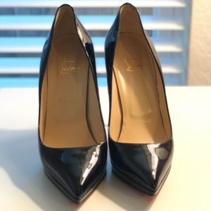Christian Louboutin Pigalle Plato Patent Leather